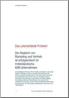 Digitales Leadmanagement in mittelständischen B2B-Unternehmen (Whitepaper)