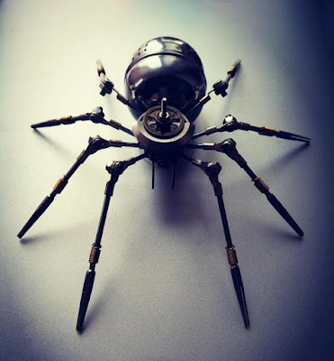 Handcraft Spider Mechanical Decorative Model