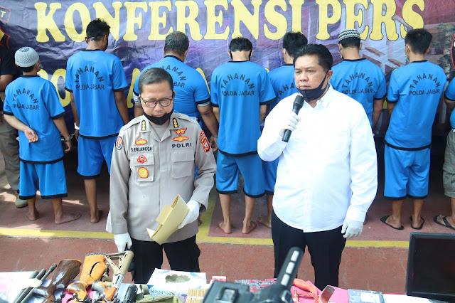 Polisi Tangkap Pelaku Pencurian Tower Seluler Di Cibinong Bogor