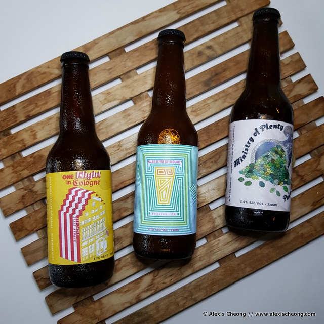Alive Brewing Co. craft beers in Singapore