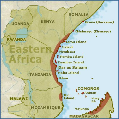 The Young Historian: African Trade Routes: The Swahili on great mosque of kilwa, calicut map, kalahari desert map, lake chad map, lake victoria map, gao map, guangzhou map, swahili coast map, cairo map, delhi india map, aden map, melaka map, timbuktu map, canton map, selous game reserve, taghaza map, mombasa map, baghdad on map, mecca map, sahara desert map, malindi map, djenne map,