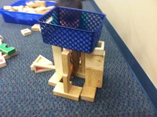 Basket in block structure (Brick by Brick)