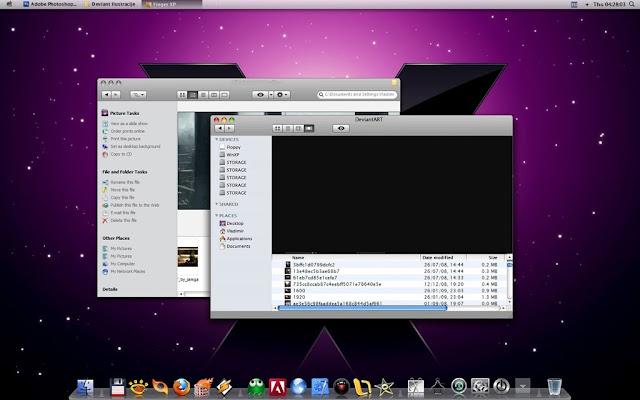 ✅ Windows XP SP3 Mac Style (Activado) Español  [ UL - FF ] Wxpms