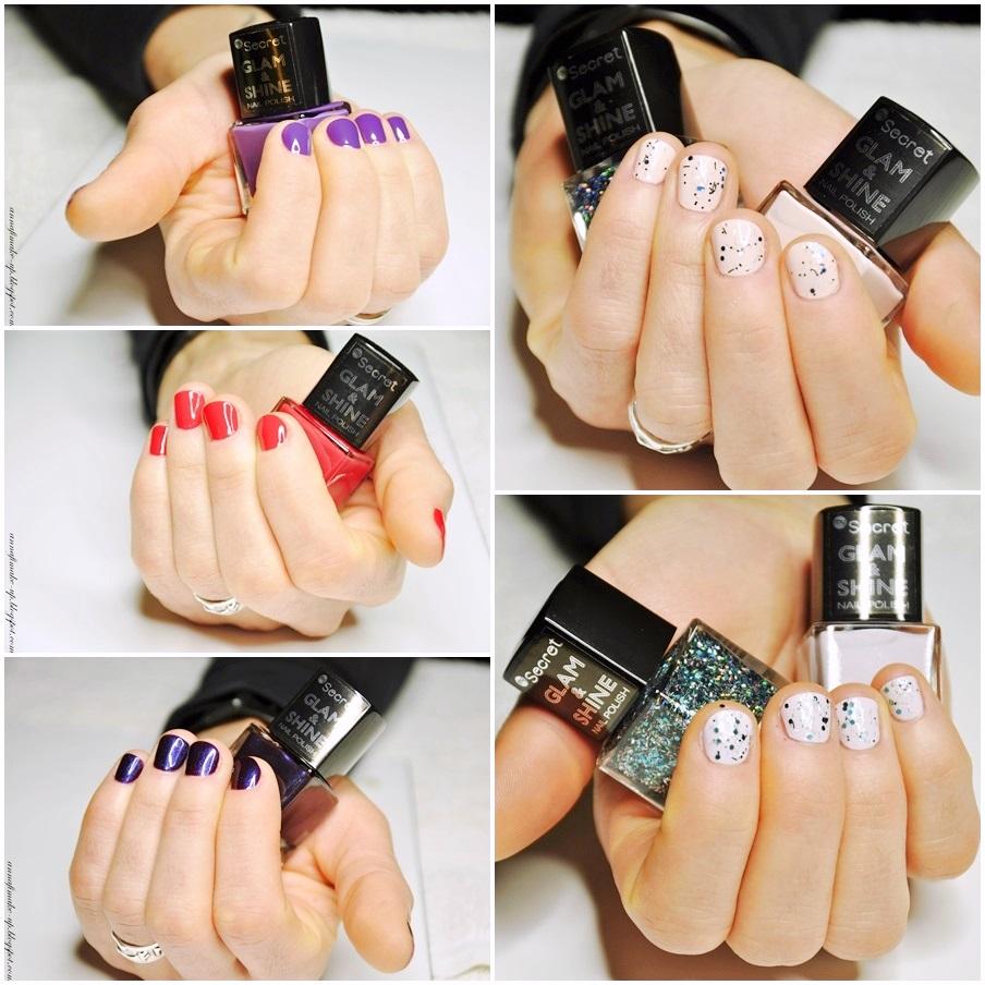 kolory na krótkich paznokciach,