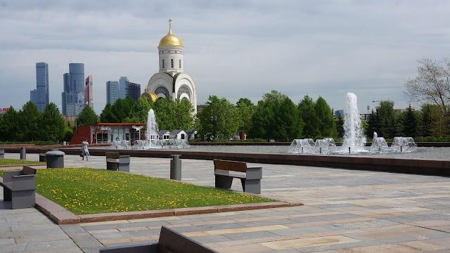 Фото Храма Георгия Победоносца на Поклонной горе в Москве