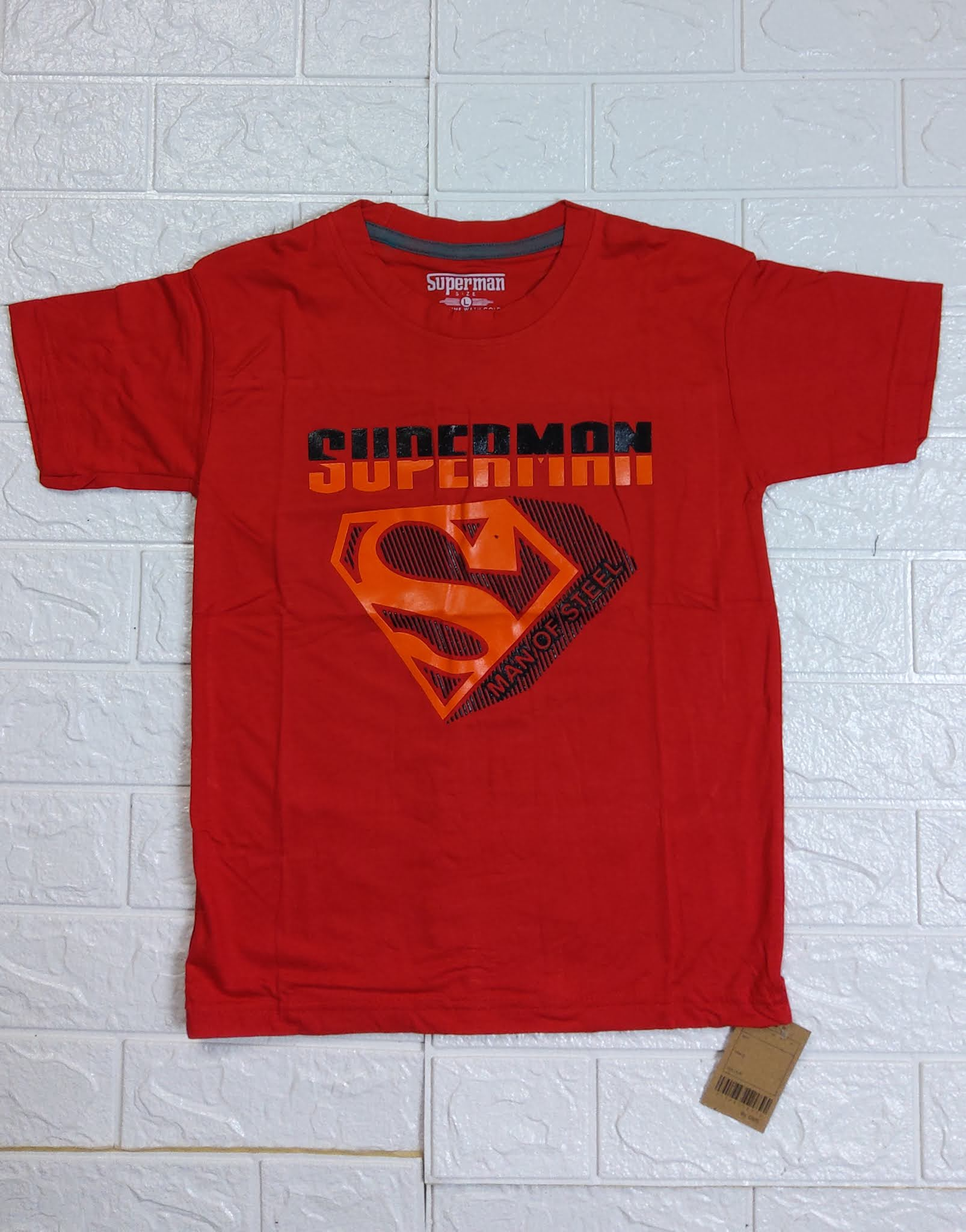 KAOS DAMOSE SPANDEK PDK MOTIF SUPERMAN (ANKL00003)