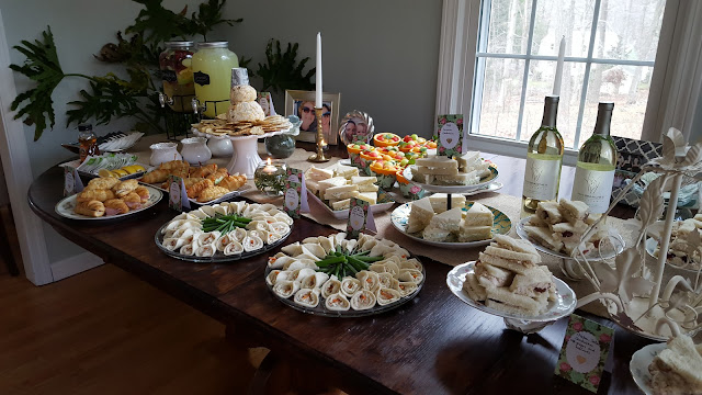 A bridal Tea Buffet