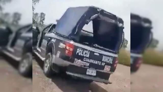 Por cochinos y tener relaciones en la patrulla, fueron despedidos de su cargo los policías Municipales captados teniendo relaciones