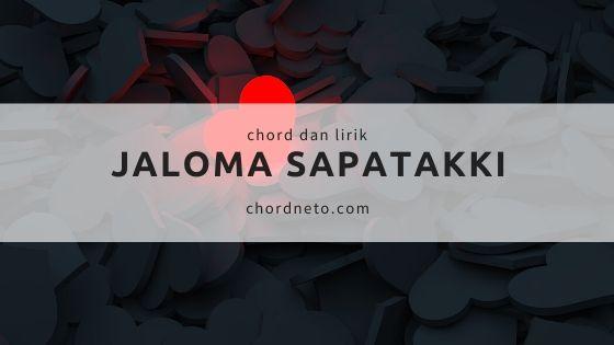 chord jaloma sapatakki lagu batak
