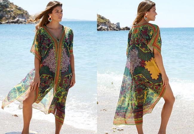 Εντυπωσιακά και Αέρινα Γυναικεία Καφτάνια Παραλίας