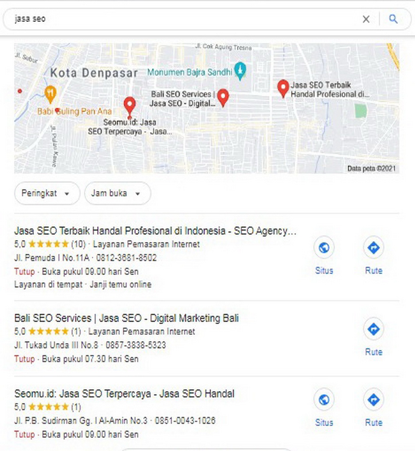 Jasa SEO Google Bisniku, Jasa SEO Google My Business