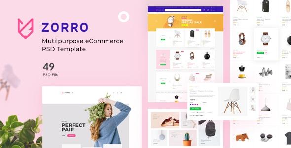 Best Multipurpose eCommerce PSD Template