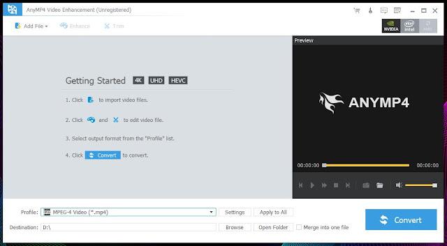 anymp4 video enhancement download