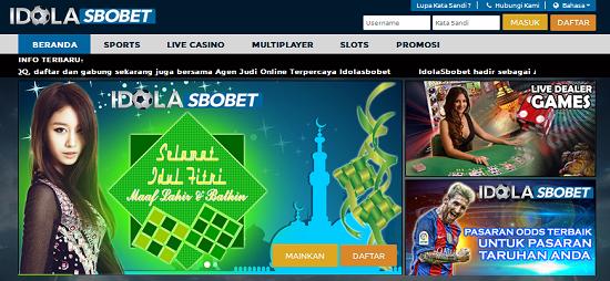 IdolaSbobet.com Agen Bola Bandar Sbobet Judi Casino Online Terpercaya