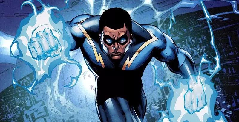 Black Lightning's Suit