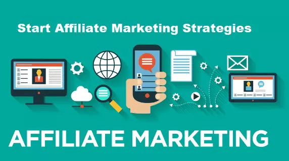 how affiliate marketing works 2021 and start affiliate marketing strategies