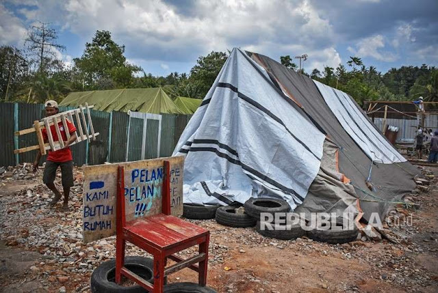 Klarifikasi Warga Korban Gempa Soal Kabar Minum Air Got