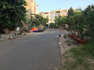 đường trước lô đất khu dân cư đại phúc green villas