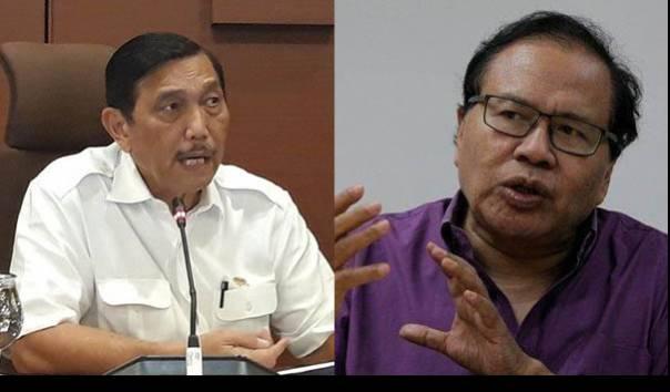 Luhut Tantang Rizal Ramli, ProDem: Kalau Isi Kepala Kosong nanti Dia Berubah Pikiran