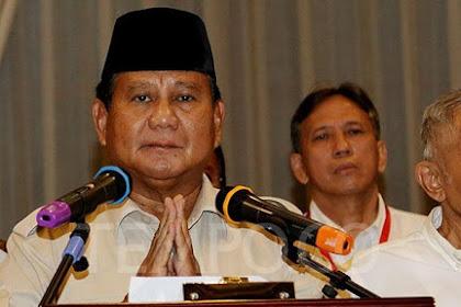 Bakal Berjuang demi Keadilan, Prabowo Siapkan Surat Wasiat