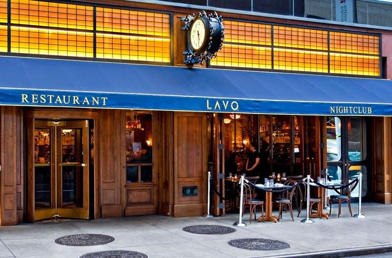 Restaurante e Balada LAVO em Nova York