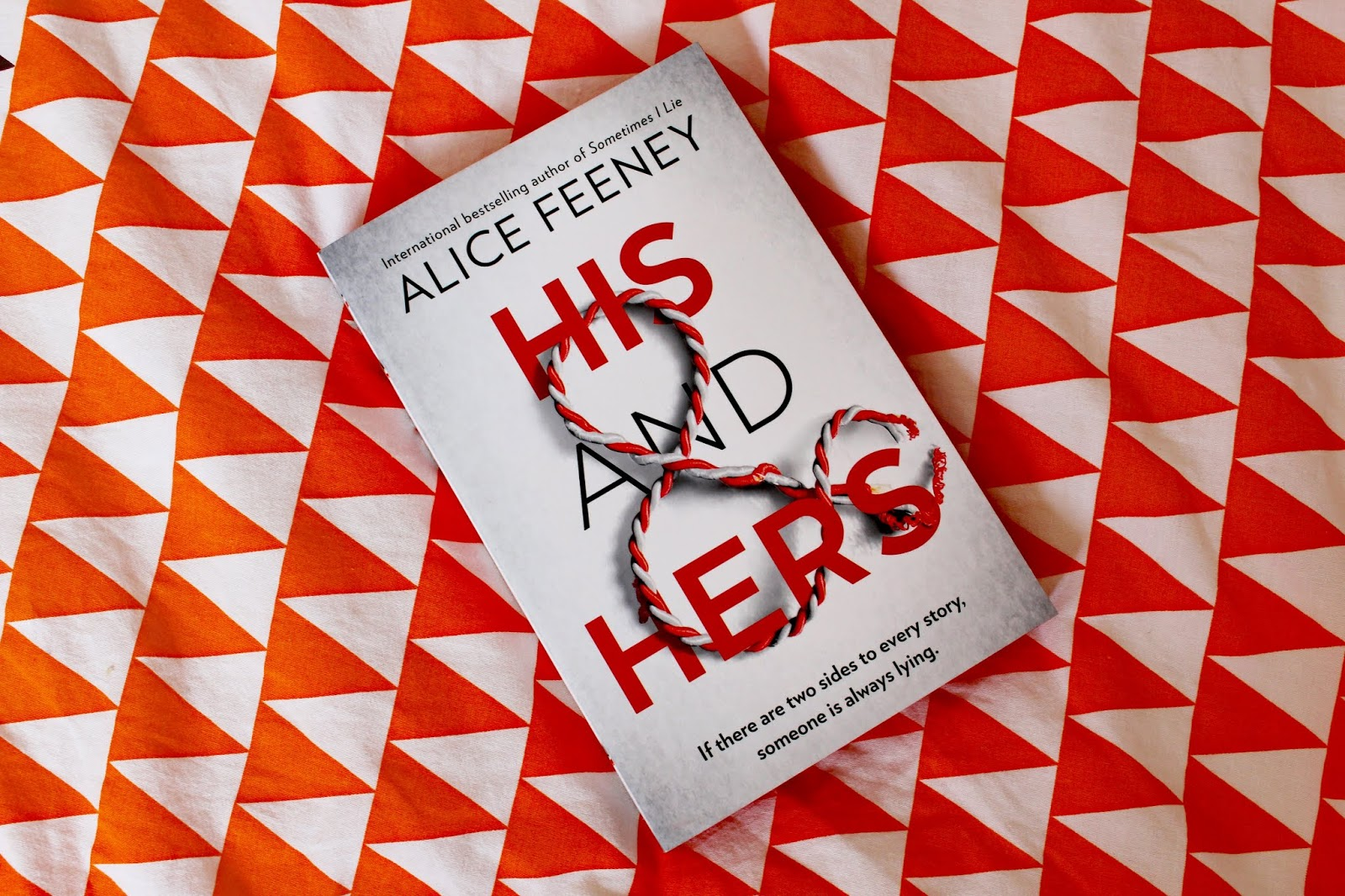 His And Hers By Alice Feeney | Book Review