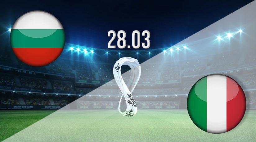 بث مباشر مباراة ايطاليا وبلغاريا