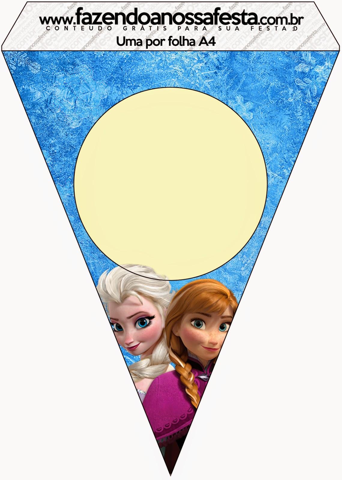Cumpleaños de Frozen: Imprimibles Gratis para Fiestas
