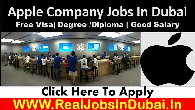 Apple Hiring Staff In Dubai UAE 2021