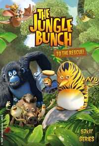 The Jungle Bunch (2011) Hindi Dual Audio Download 200mb BluRay