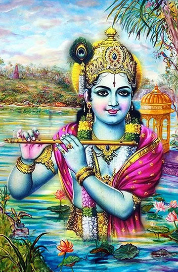 krishna bhagwan ka photo dikhaiye