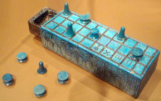 Egyptian board game senet