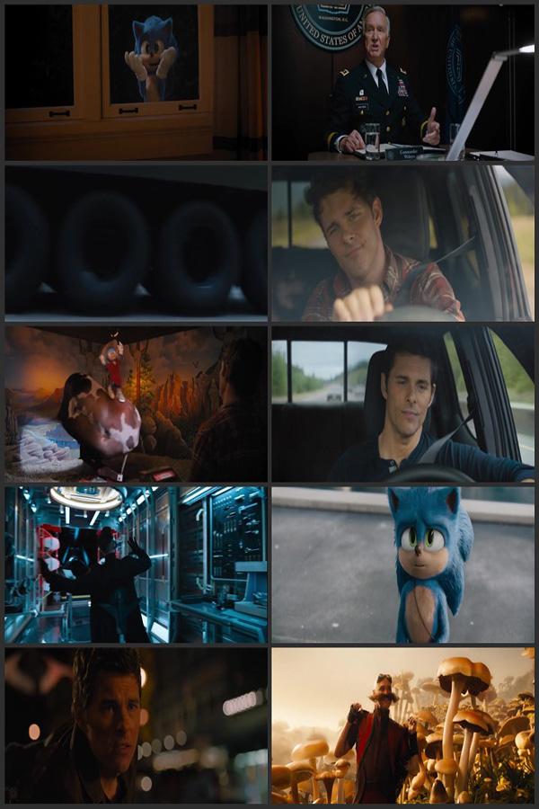 Download Sonic the Hedgehog 2020 English 480p BluRay 400MB ESubs movie