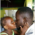 See the way this girl is kissing her 'dad' (photo)