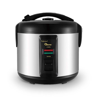 OX-252 Professional Rice Cooker Oxone 1.8 Lt - Grey