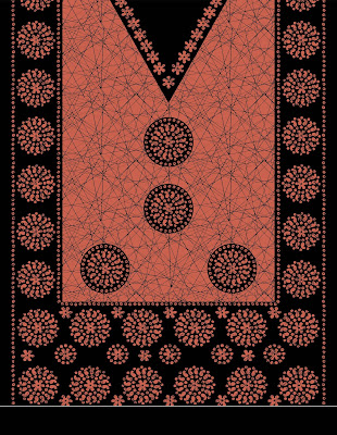 Lavanya-Geometric-Textile-Kaftan 49a
