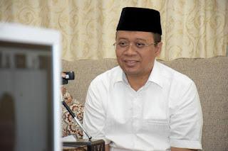 Halalbihalal Virtual dengan AMBI,  Gubernur Ajak Tokoh Bima Bimbing Anak Muda NTB