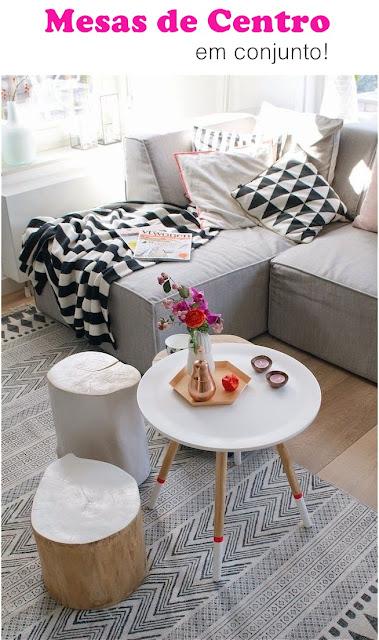 decoração-mesas-de-centro-agrupadas