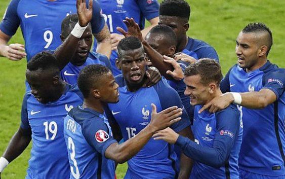 La France en demi-finale de l' Euro 2016