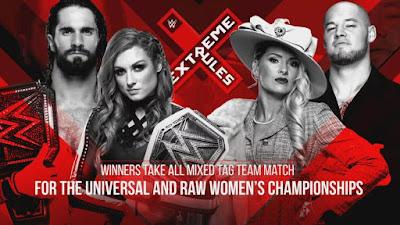 WWE تعلن عن قانون مواجهة فريق سيث رولينز وبيكي لينش ضد فريق بارون كوربن ولايسي إيفانز في عرض إكستريم رولز 2019