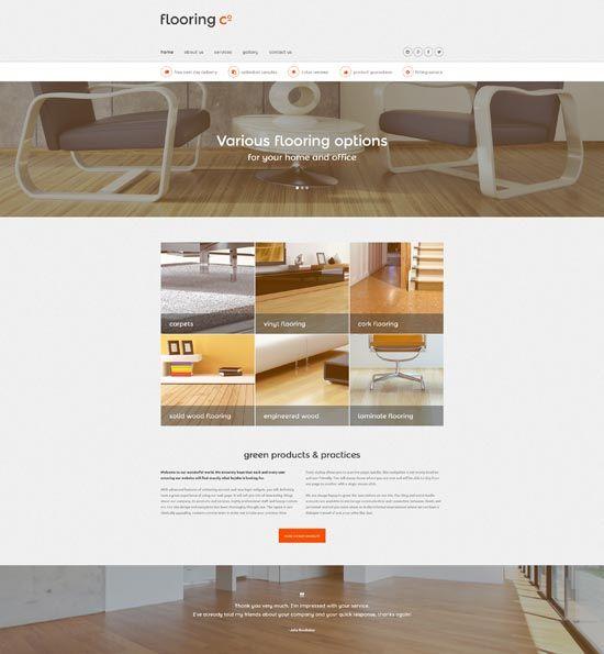 Interior Design & Furniture Website Templates 2016