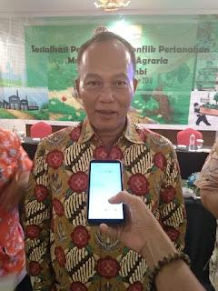 BPN Provinsi Jambi Gelar Sosialisasi Penyelesaian Konflik Pertanahan Melalui Reforma reforma Agraria Provinsì Jambi