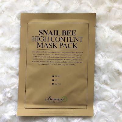 Benton snail bee maseczka recenzja