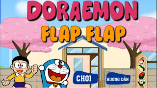 Chơi game bay cùng Doremon cực vui