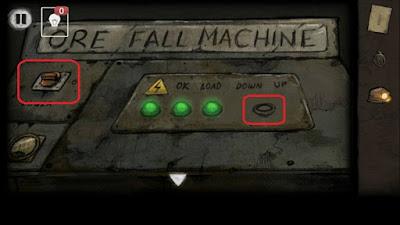 включение света и кнопку с правой стороны в игре выход из заброшенной шахты
