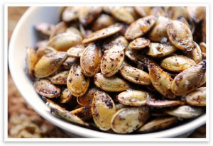 Roasted pumpkin seed recipes