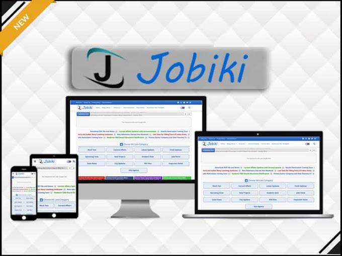 Jobiki - Education & Job Blogger Template - Responsive Blogger Template