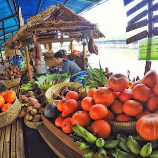 Pasar Terapung Di Lembang Bandung