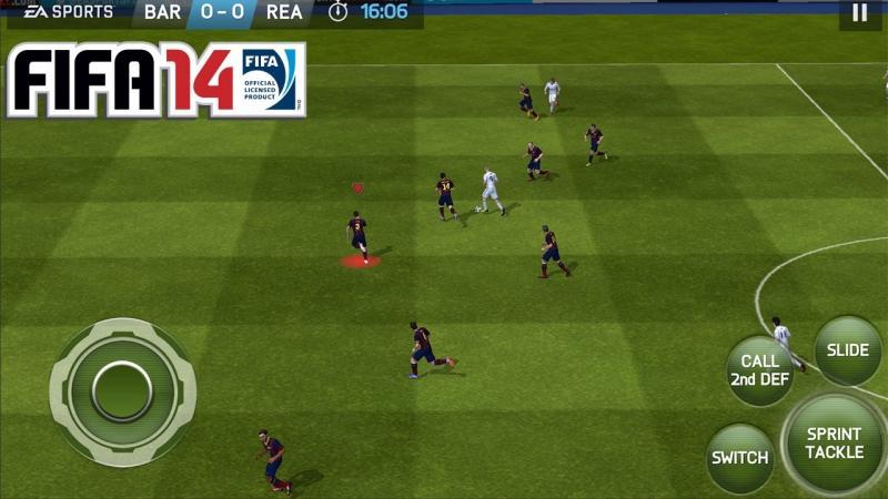 FIFA 14 v1.3.6.1 Mod, Free Shopping/Premium Kit - Game bóng đá cho điện thoại