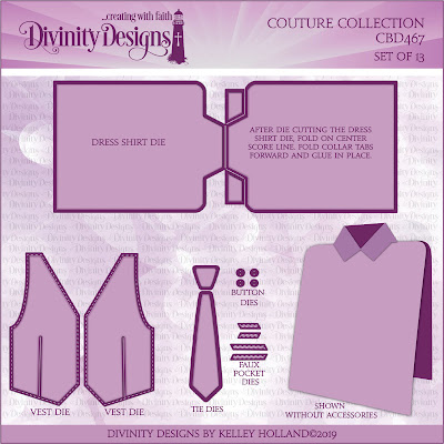 Divinity Designs Custom Dies: Couture Collection